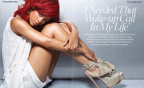 ri fg More Rihanna In Marie Claire