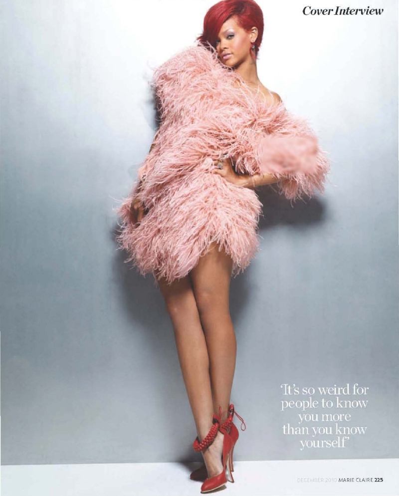 rin1 More Rihanna In Marie Claire