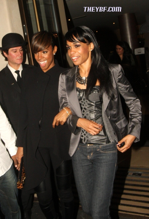 rowland kelly Hot Shots: Kelly Rowland & Michelle Williams In London
