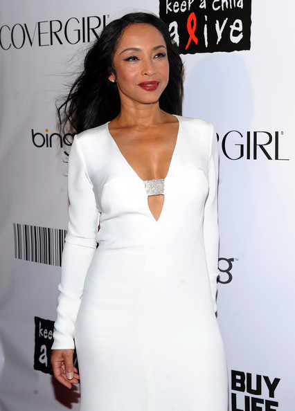 sade stunner Hot Shots: Whitney, Beyonce, Alicia, Jennifer Hudson, & More At Keep A Child Alive Ball