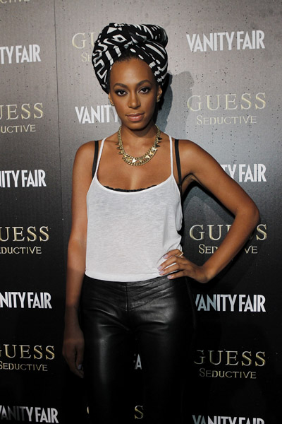solange guess 3 Hot Shots: Solange At Guess Seductive Launch