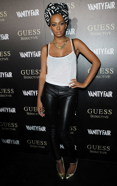 solange guess Hot Shots: Solange At Guess Seductive Launch