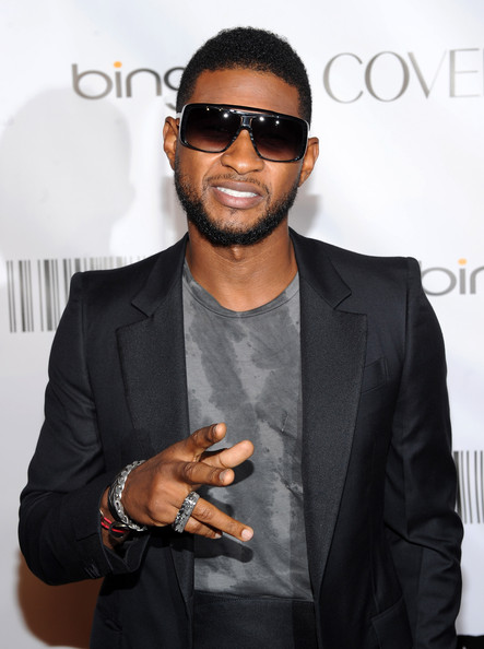 usher 44 Hot Shots: Whitney, Beyonce, Alicia, Jennifer Hudson, & More At Keep A Child Alive Ball