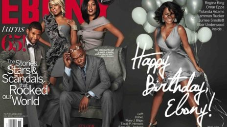 Hot Shot: Usher, Mary J. Blige & Others Cover Ebony Magazine