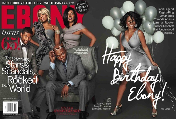 ushermaryebony Hot Shot: Usher, Mary J. Blige & Others Cover Ebony Magazine
