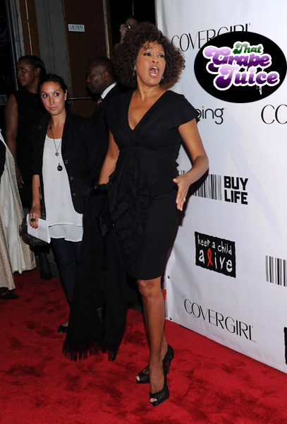 whitney 551 Hot Shots: Whitney, Beyonce, Alicia, Jennifer Hudson, & More At Keep A Child Alive Ball
