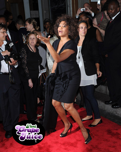 whitney kp Hot Shots: Whitney Houston At Keep A Child Alive Ball