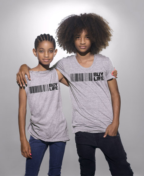 willow3 Hot Shot: Willow & Jaden Smith Contribute To Buy Life Campaign