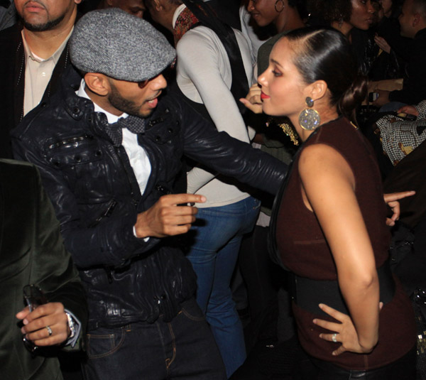 alicia keys swizz 5 Hot Shots: Alicia Keys & Swizz Beats Party IN NYC