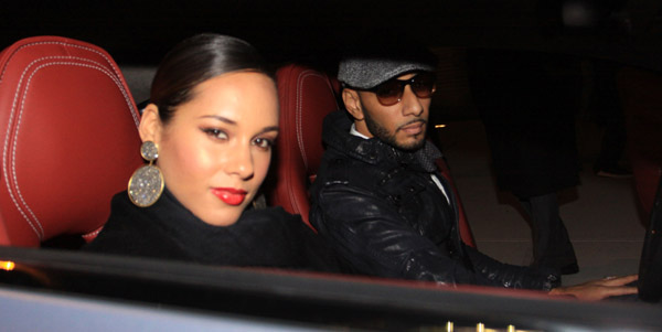 alicia swizz4 Hot Shots: Alicia Keys & Swizz Beats Party IN NYC