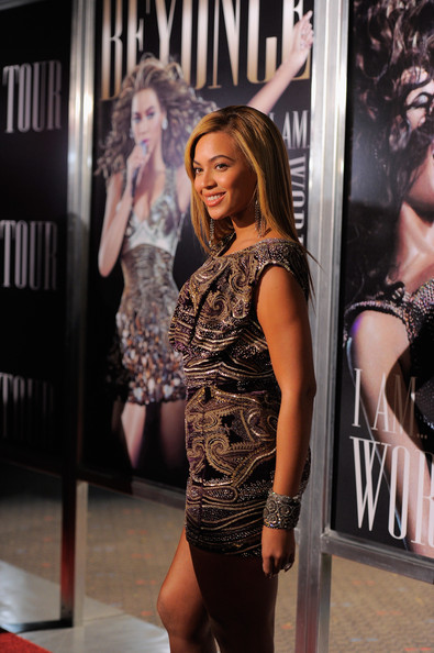 beyonce21 Hot Shots: Beyonce At I Am...World Tour Screening In NYC