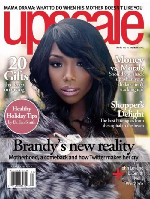 brandy upscale mag e1288943480229 Hot Shots: More Of Brandy In Upscale Magazine