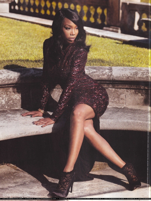 brandy2 Hot Shots: More Of Brandy In Upscale Magazine