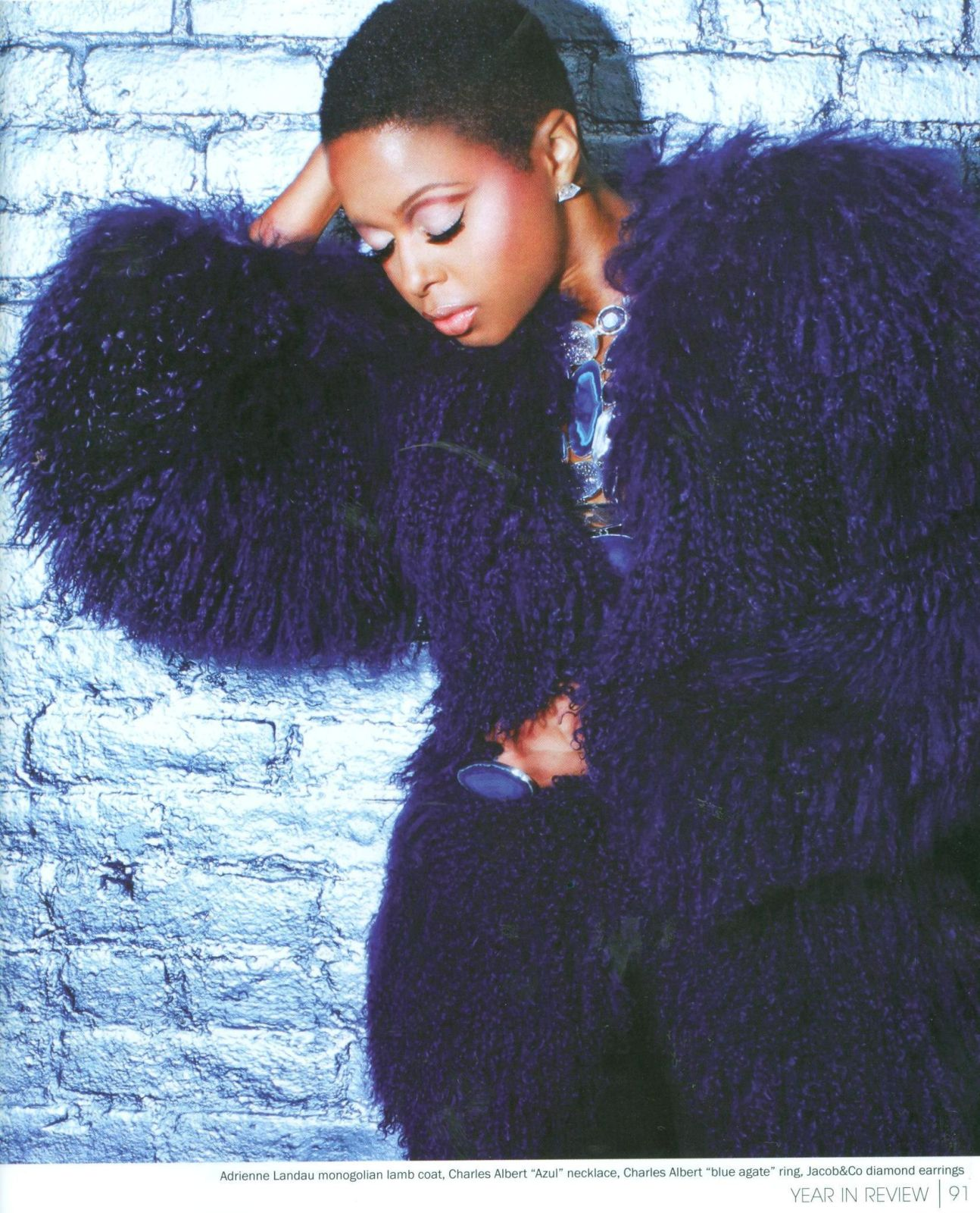 chrisette4 Hot Shots: Chrisette Michele In YRB Magazine