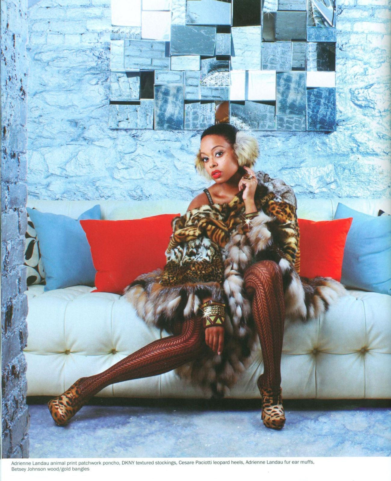 chrisette5 Hot Shots: Chrisette Michele In YRB Magazine