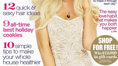 Christina Aguilera Covers Redbook