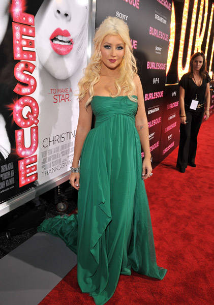 christina21 Hot Shots: Christina Aguilera At Burlesque Premiere