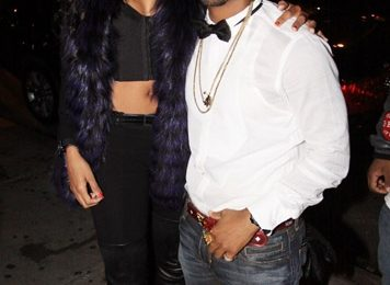 Hot Shot: Ciara & Omarion At 'Basic Instinct' Listening Party