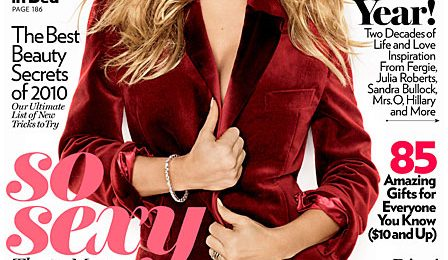 Fergie Covers Glamour