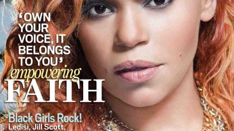 Hot Shot: Faith Evans Covers JET Magazine