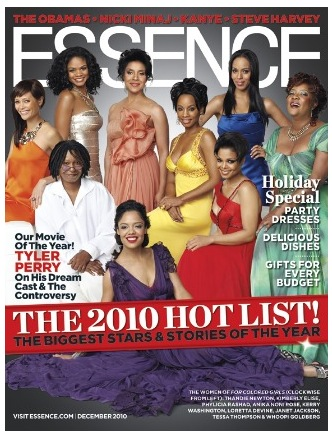 fcg essence For Colored Girls Cast Cover Essence