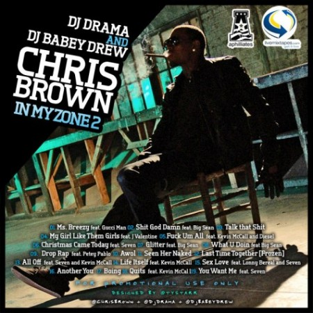 in my zone back e1290858468509 Download: Chris Browns In My Zone 2 Mixtape (Free)