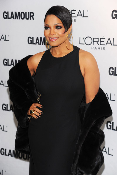 janet 543 Hot Shots: Janet Jackson At Women Of The Year Awards