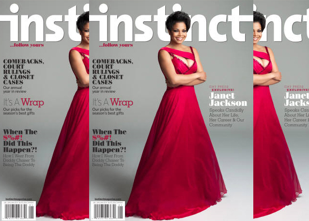 janet instinct Hot Shot: Janet Jackson Covers Instinct Magazine