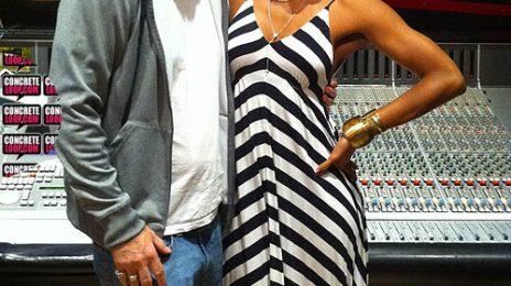 Hot Shots: Kelly Rowland Hits Studio With Jim Jonsin & Rico Love