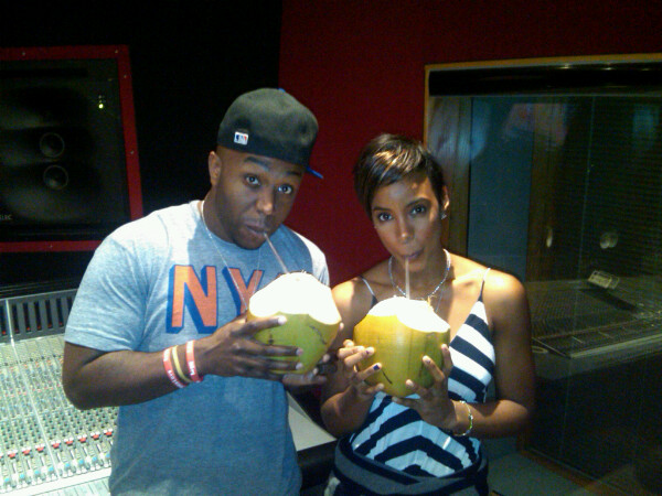 kelly rico Hot Shots: Kelly Rowland Hits Studio With Jim Jonsin & Rico Love