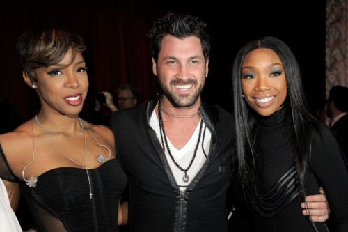 kelly vevo e1290433333718 Hot Shots: Brandy & Kelly Rowland At Ne Yos VEVO Bash