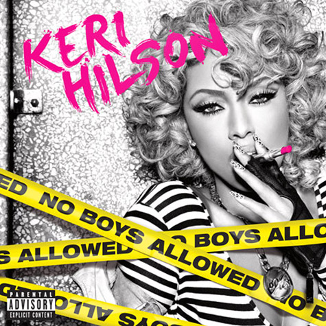 keri hilson cover Keri Hilson Unveils No Boys Allowed Album Cover