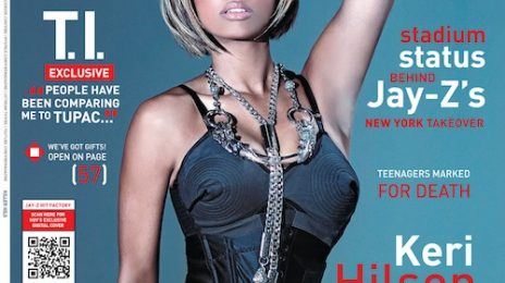 Keri Hilson Covers VIBE