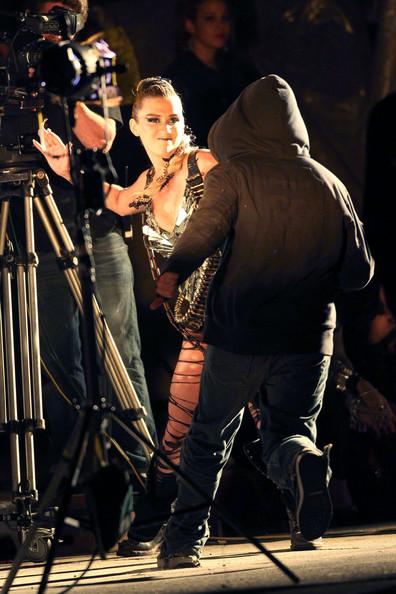 kesha6 Hot Shots: Ke$ha On The Set Of We R Who We R Video