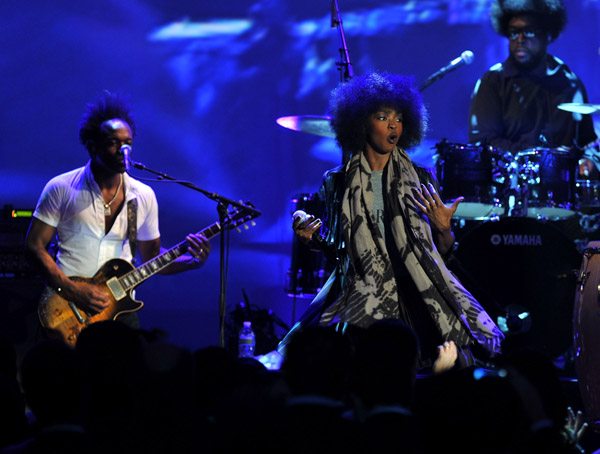 lauryn 45 Hot Shots: Lauryn Hill Rocks Parkinsons Benefit Gig