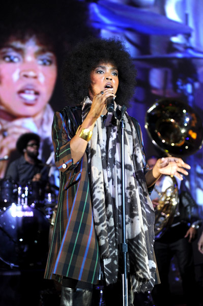 lauryn h Hot Shots: Lauryn Hill Rocks Parkinsons Benefit Gig