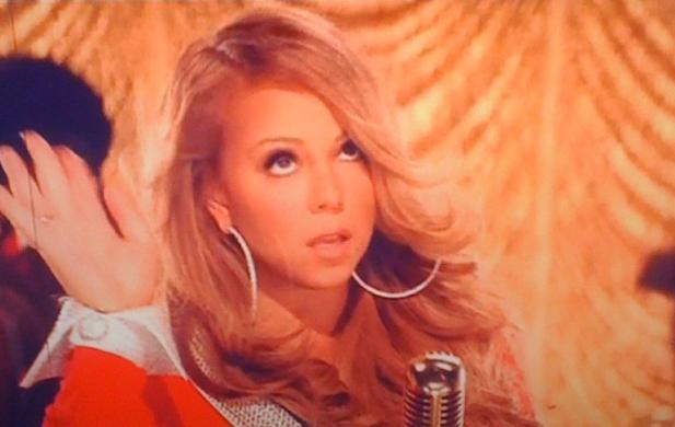 mariah Hot Shots: Mariah Carey Films Oh Santa Video