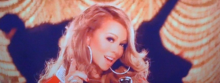 mariah1 Hot Shots: Mariah Carey Films Oh Santa Video