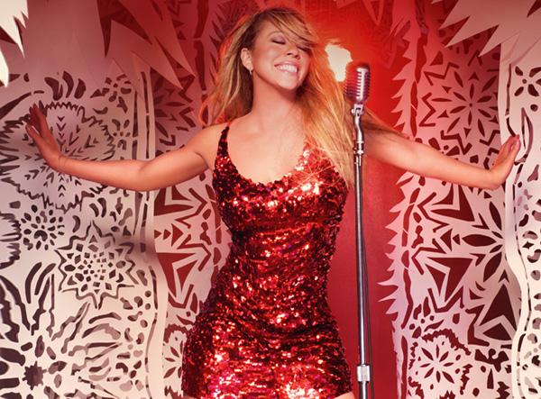mariah2 Mariah Careys Voice Soars In ABC Christmas Concert