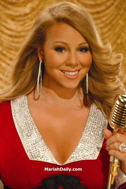 mariah21 Hot Shots: Mariah Carey Reveals New Merry Christmas II You Promo Shots