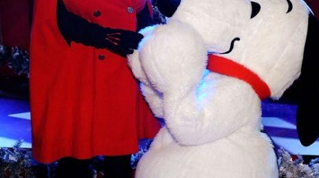 Hot Shots: Mariah Carey Brings Christmas To NYC