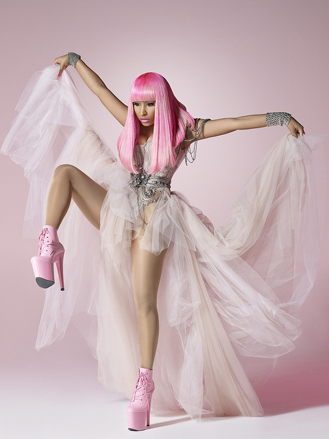 nicki21 Hot Shots: Nicki Minaj Gets Animated In New Promotional Pictures