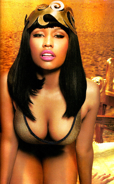 nicki3 Hot Shots: Nicki Minaj Scorches In BlackMen SSX Tribute Magazine