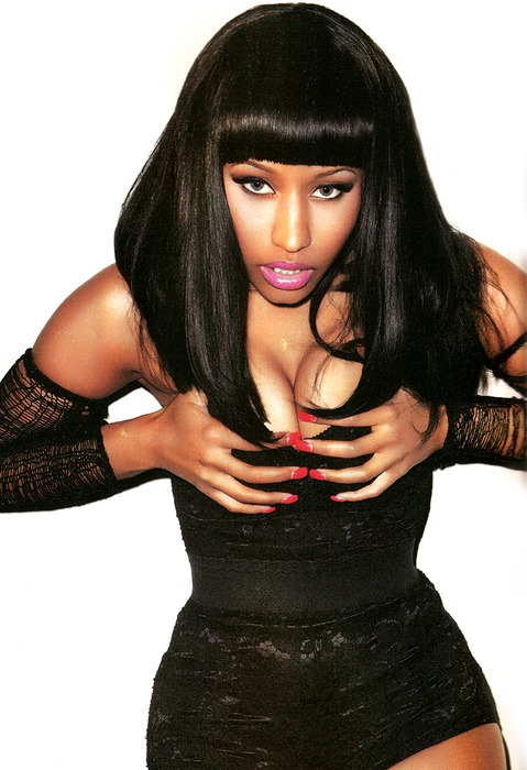 nicki7 Hot Shots: Nicki Minaj Scorches In BlackMen SSX Tribute Magazine