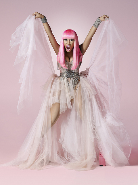 nicki8 Hot Shots: Nicki Minaj Gets Animated In New Promotional Pictures