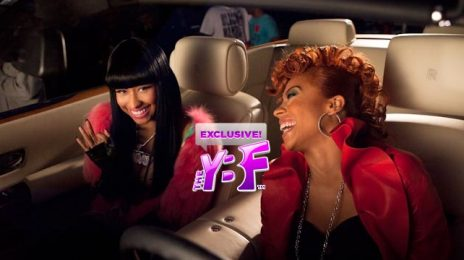 Hot Shot: Keyshia Cole & Nicki Minaj Film 'I Ain't Thru' Video