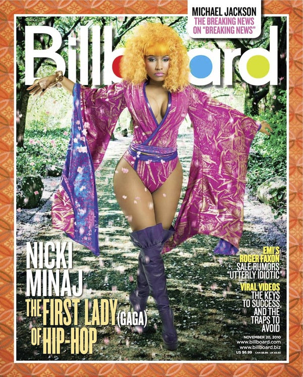 nickiminajbillboard Hot Shot: Nicki Minaj Covers Billboard Magazine