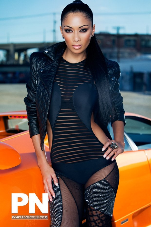 nicole Hot Shots: Nicole Scherzinger Poses For Fabulous Magazine