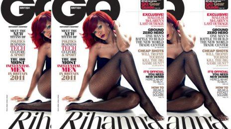 Rihanna Tells British GQ That She Still Thinks About Chris Brown