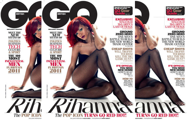 rihanna gq 2010 Rihanna Tells British GQ That She Still Thinks About Chris Brown
